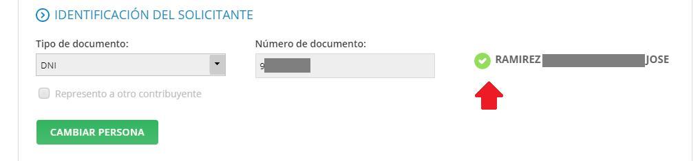 Identificando solicitante sistema de TURNOS WEB AFIP