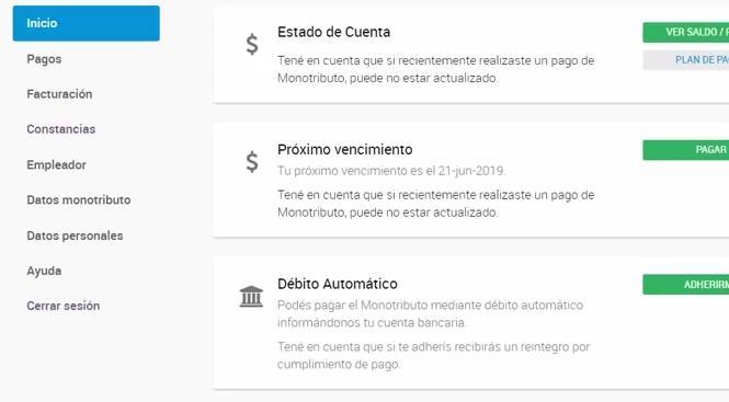 MIS SERVICIOS AUTH AFIP