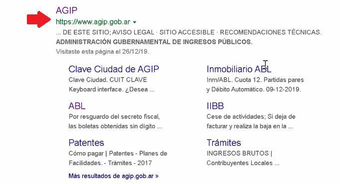 www agip . gov . ar
