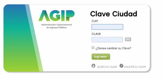 Clave de la ciudad AGIP
