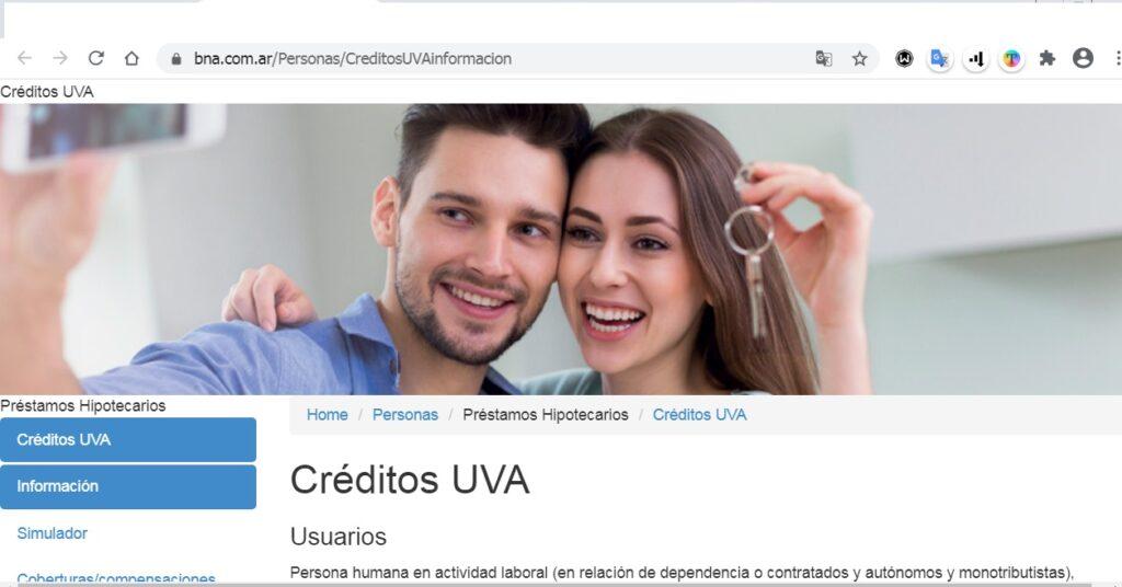Créditos Hipotecarios Banco Nación Argentina