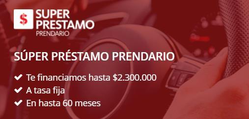 Hipoteca Santander y Crédito hipotecario Santander Súper préstamo prendario