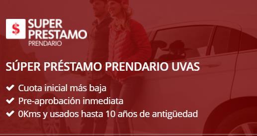 Hipoteca Santander y Crédito hipotecario Santander Súper préstamo prendario UVAS
