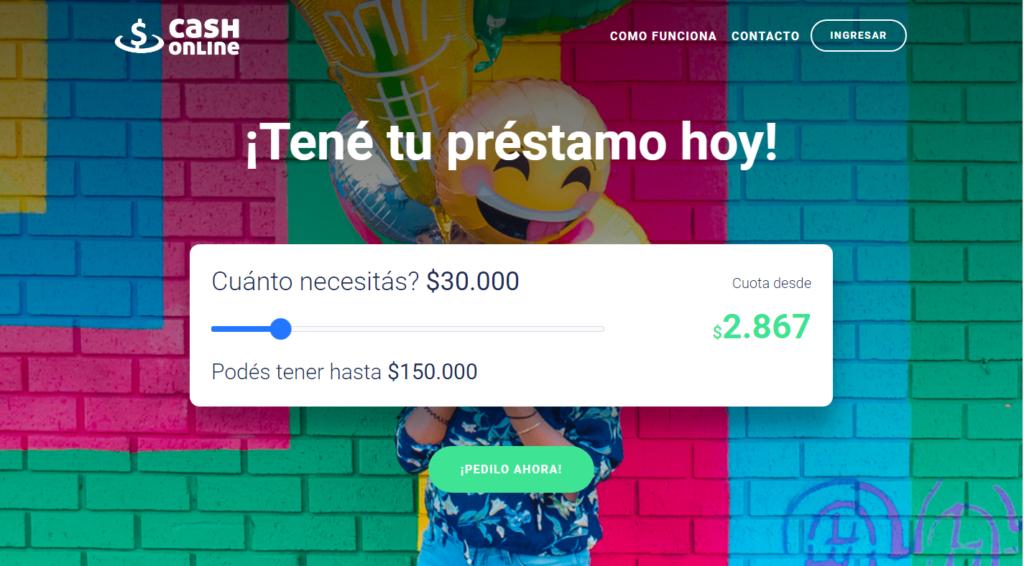 Préstamo online Cash online