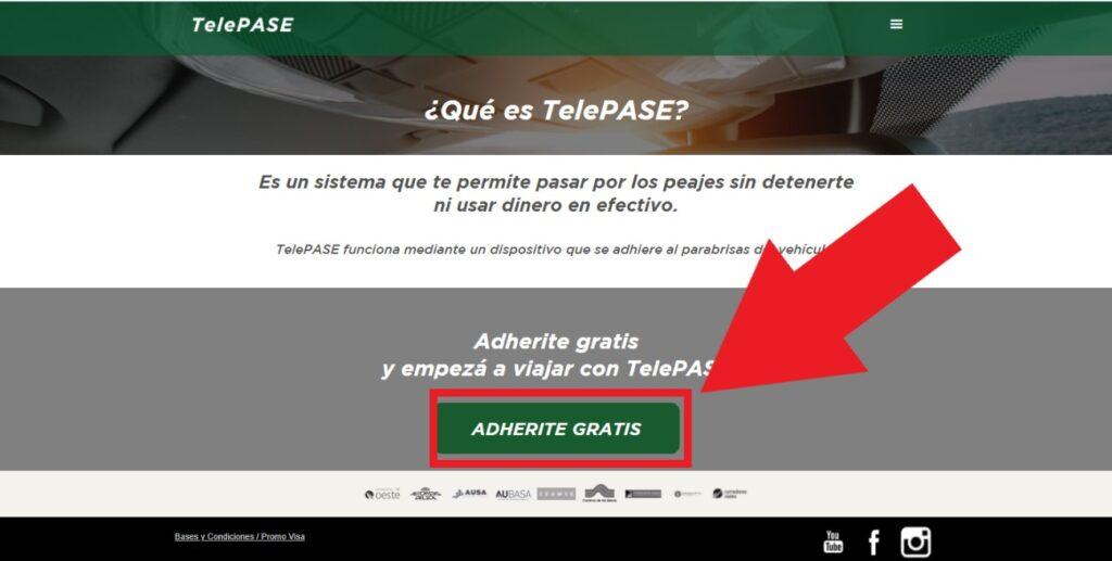 web de TelePASE