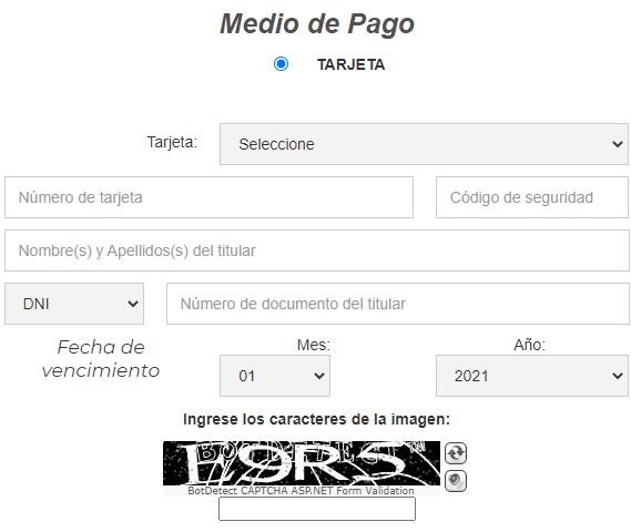 Medios de pago TelePASE